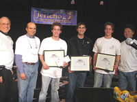 JEF Congratulates the Spelling Bee Champions: Michael Gladstone, David Weiss, James Gladstone